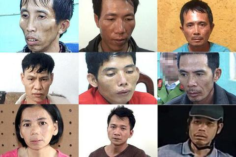 9 nghi phạm trong vụ sát hại nữ sinh giao gà sắp hầu tòa
