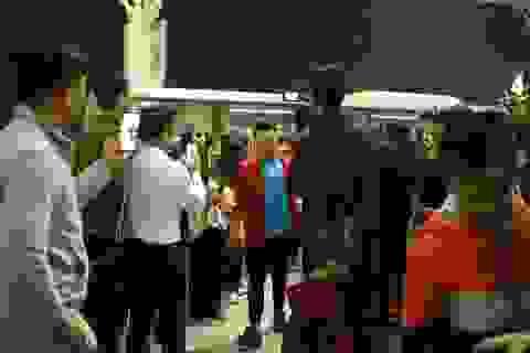 U23 Việt Nam sang Hàn Quốc lúc nửa đêm