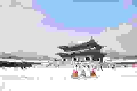 Khám phá xứ Hàn trong mùa tuyết rơi
