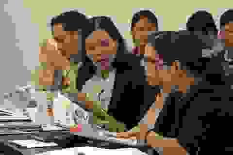 Cung ứng 40.000 bản sách mẫu phục vụ việc lựa chọn SGK mới