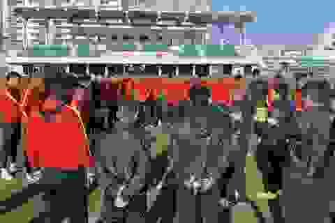 U23 Việt Nam hoà đội sinh viên Hàn Quốc