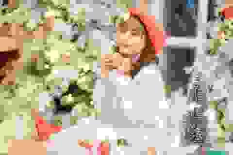"""Ảnh Giáng sinh cực dễ thương của Bé Bống """"Hoa hồng trên ngực trái"""""""