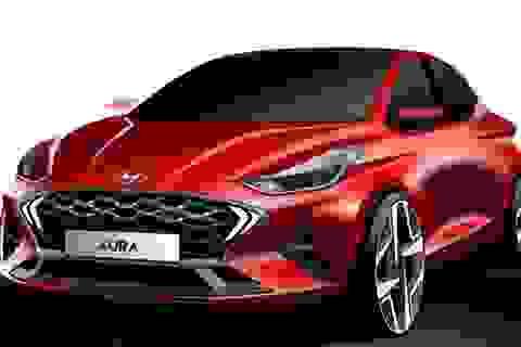 Hyundai hé lộ hình ảnh tân binh Aura
