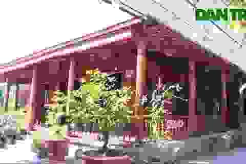 Độc đáo ngôi nhà làm từ hơn 4000 cây dừa