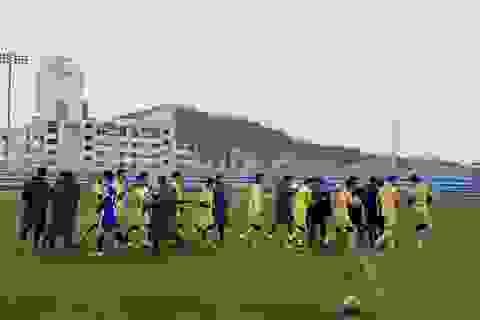 U23 Việt Nam thắng đội hạng Ba Hàn Quốc trước ngày về nước