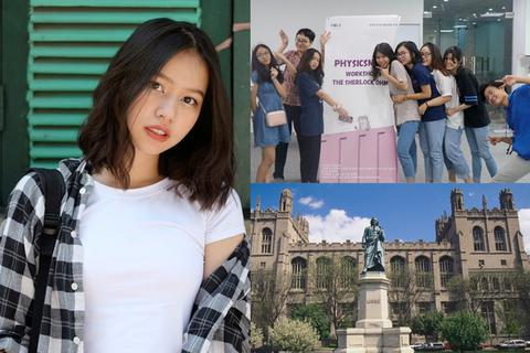 Nữ sinh Ams nhận học bổng 7 tỷ đồng vào đại học GS Ngô Bảo Châu đang giảng dạy