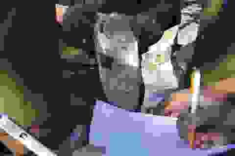 Liên tiếp bắt xe chở giày dép, mỹ phẩm không chứng từ ở Đà Nẵng