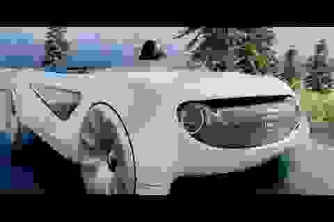 """Mẫu xe tự lái """"cực dị"""" của Honda gây tò mò"""