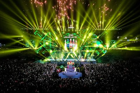 Đại tiệc âm nhạc Chào năm mới 2020 – Vị bia làm nên sắc Tết cùng Bia Hà Nội