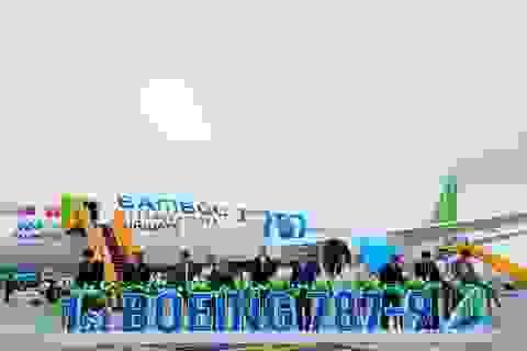Phó Chủ tịch Quốc Hội phát biểu biểu dương Bamboo Airways tại Lễ đón máy bay thân rộng Boeing 787-9 Dreamliner