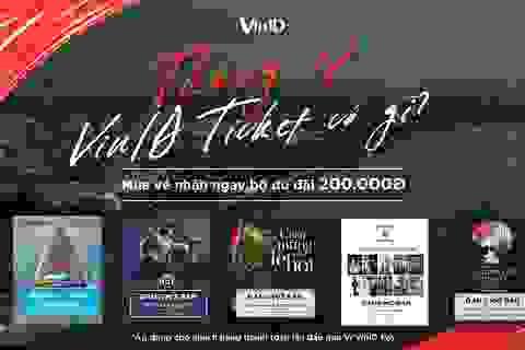 Khám phá 5 sự kiện vui chơi giải trí cuối năm chỉ với 1 ứng dụng VinID