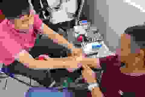 Người hiến máu tình nguyện được tặng gói xét nghiệm tầm soát ung thư