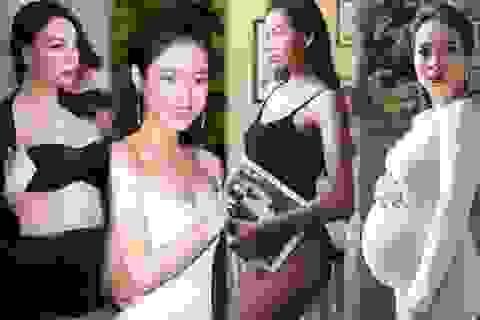 """Những mỹ nhân Việt """"giấu nhẹm"""" chuyện mang bầu, sinh con mới công khai"""