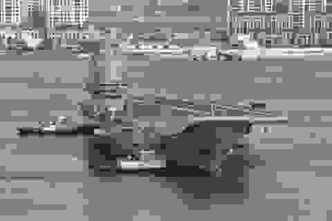 Trung Quốc điều tàu sân bay qua eo biển Đài Loan ngay sau khi biên chế