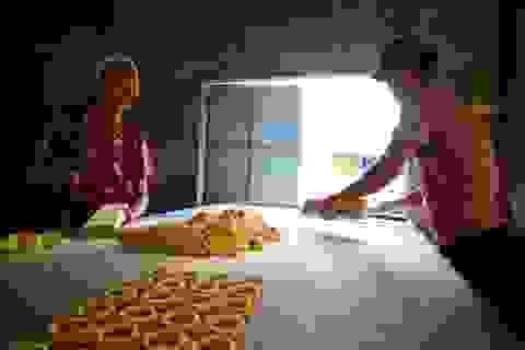 Làng bánh in truyền thống An Lạc nhộn nhịp vào vụ Tết