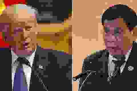 Tổng thống Philippines thẳng thừng từ chối thăm Mỹ
