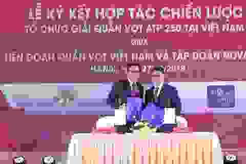 Novaland hợp tác cùng Liên đoàn Quần vợt Việt Nam tổ chức các Giải quần vợt quốc tế tại Novaworld Phan Thiết