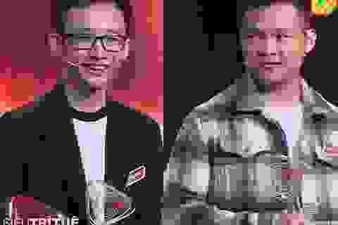 """""""Phù thủy toán học"""" Huy Hoàng thắng nghẹt thở """"bách khoa sống"""" Việt Hoàng tại cuộc thi siêu trí tuệ"""