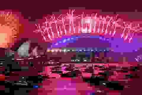 Pháo hoa tưng bừng khắp thế giới đón năm mới 2020
