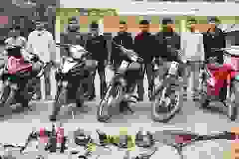 Bắt 9 đối tượng gây ra hàng loạt vụ trộm cướp