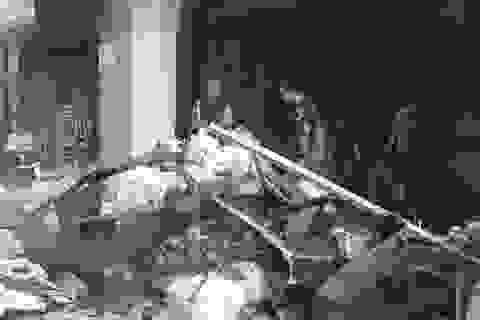 Tiệm áo cưới bốc cháy trước ngày khai trương, 3 người may mắn thoát nạn