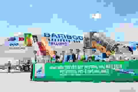 Máy bay thân rộng Boeing 787-9 Dreamliner 'Ha Long Bay' của Bamboo Airways thực hiện chuyến bay thương mại đầu tiên
