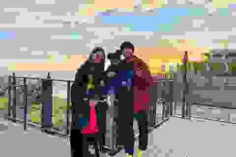 Gia đình Châu Kiệt Luân hạnh phúc bên nhau trong ngày đầu năm mới
