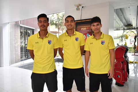 Lộ diện bộ ba tấn công đáng sợ của U23 Thái Lan