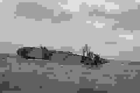 Tàu Thái Lan chìm tại biển Vũng Áng: Sẽ hút hết 178 tấn dầu trước Tết