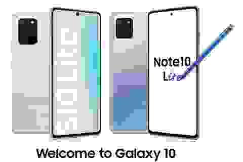 Samsung trình làng bộ đôi giá rẻ Galaxy S10 Lite và Note10 Lite
