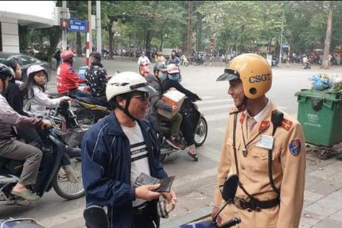 Những mức xử phạt mới mà người đi xe máy cần biết
