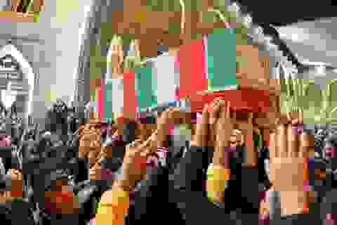 Thi thể tư lệnh Iran bị ám sát về nước