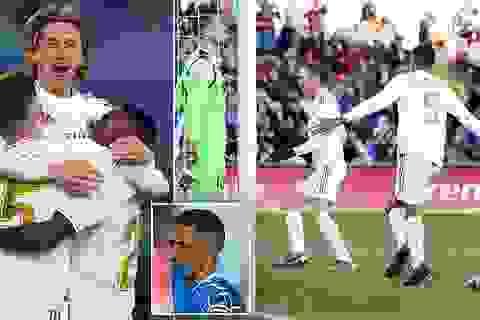 Thắng đậm trận derby, Real Madrid áp sát Barcelona
