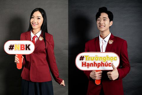 Những chàng trai cô gái xinh đẹp, đa tài trường Nguyễn Bỉnh Khiêm