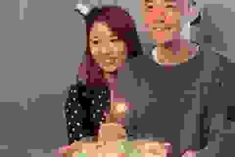 Vợ chồng Lâm Tâm Như tổ chức sinh nhật cho con gái