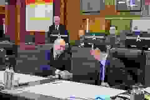 """Tổng thống Putin bất ngờ tới Syria giữa lúc """"chảo lửa"""" Trung Đông sục sôi"""