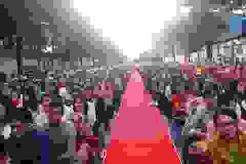 """Thanh Hoá: Gần 10.000 công nhân, lao động dự chương trình """"Tết sum vầy 2020"""""""