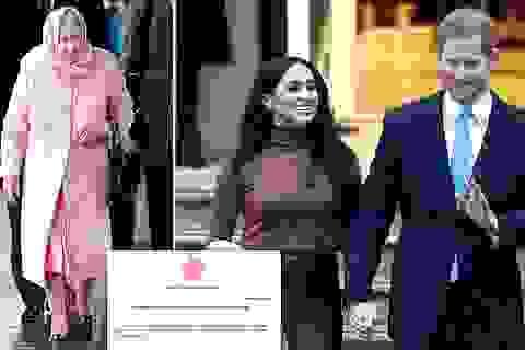 """Hoàng gia Anh """"bị sốc, tổn thương"""" vì vợ chồng Hoàng tử Harry đột ngột rút lui"""