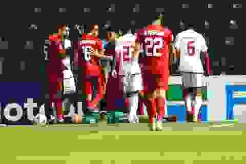 Thủ thành Bùi Tiến Dũng có khả năng vắng mặt ở trận gặp U23 Jordan