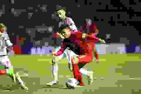 Quang Hải nói gì sau trận hòa khó khăn với U23 UAE?