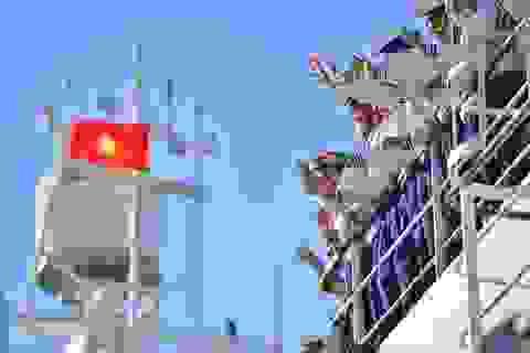 Xúc động lễ tiễn quân ra quần đảo Trường Sa làm nhiệm vụ