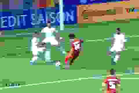 Vì sao trọng tài từ chối quả phạt đền của U23 Việt Nam?