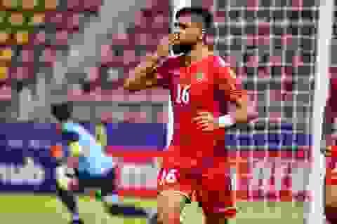U23 Bahrain 2-2 U23 Iraq: Kịch tính chia điểm ở phút bù giờ