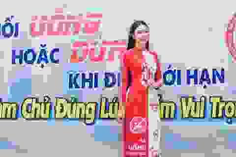 """Hoa hậu Ngọc Hân """"quá ưng"""" Nghị định xử phạt vi phạm nồng độ cồn"""