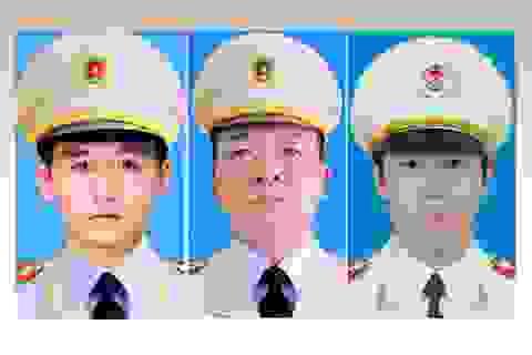 Bộ Công an thông báo lễ tang 3 cán bộ chiến sĩ hy sinh ở Đồng Tâm