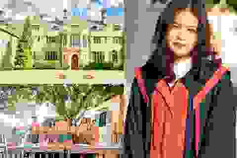 Nữ sinh chuyên Sư phạm nhận học bổng Mỹ 3,8 tỷ đồng dù không có điểm SAT