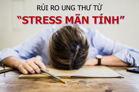 """Stress kéo dài """"nuôi dưỡng"""" mầm mống ung thư"""
