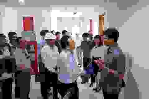Phó Chủ tịch Khánh Hòa bất ngờ thị sát dự án Hoàng Quân trước ngày giao nhà