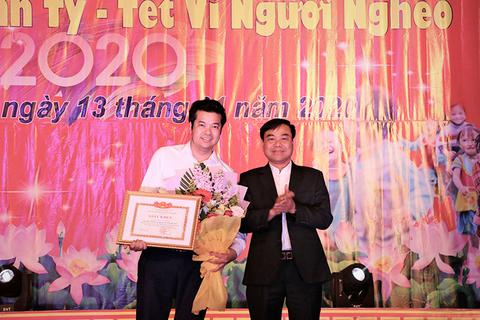Nhiệt huyết trong hoạt động thiện nguyện, PV Dân trí được huyện tặng Giấy khen