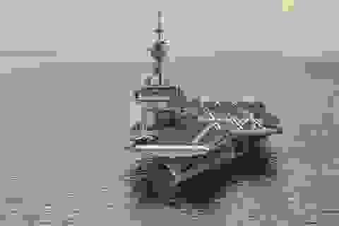 Pháp điều tàu sân bay hạt nhân mạnh nhất châu Âu tới Trung Đông